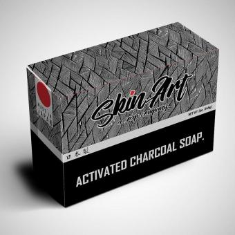 Harga Skin Art ACTIVATED CHARCOAL SOAP.