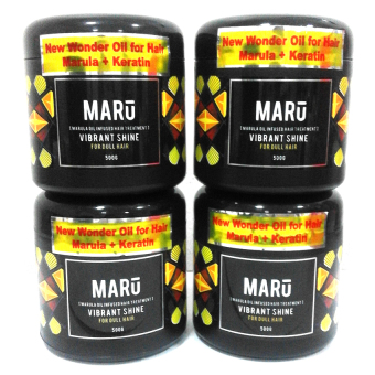 Harga Maru Hot Oil 500g (Vibrant Shine) Set of 4