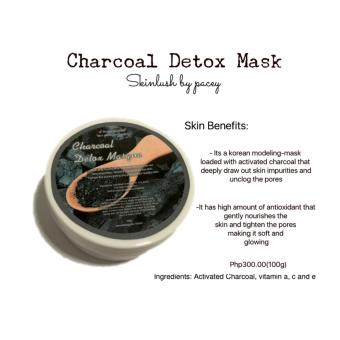 Harga Skinlush by Pacey Charcoal Detox Mask 100g
