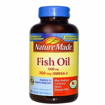 Nature Made Fish Oil 1200mg 200 Softgels Price Philippines