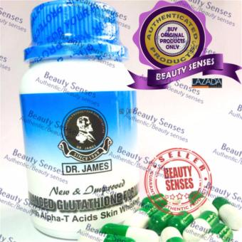Harga Dr. James Glutathione Skin Whitening Capsules (New Bottle) Brown 60s