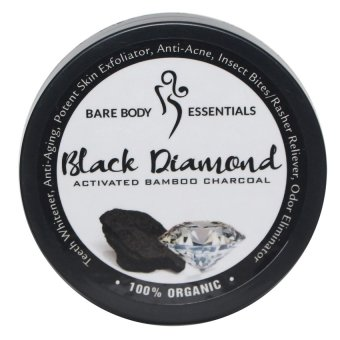 Harga Bare Body Black Diamond (Activated Bamboo Charcoal)
