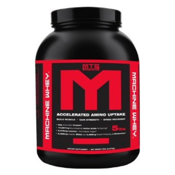 Harga MTS Nutrition Machine Whey BEST TASTING High Bio-Availability Protein Shake - 5lbs - Vanilla