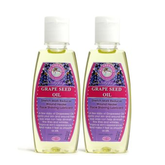 Harga Milea Moisturizing and Stretch Mark Relief Grapeseed Oil 50ml Set of 2