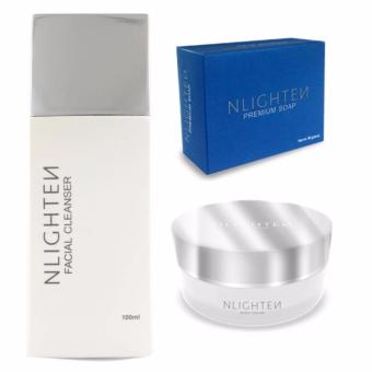 NLighten Beauty Set (For stretchmark, darkspots & scars)