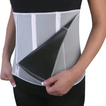 SK Adjustable Slimming Exercise Belt Binder (Grey) Price Philippines