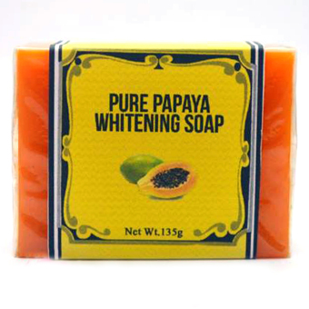 Harga NNZN Skin Care (PURE PAPAYA WHITENING SOAP)