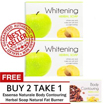 Essensa Naturale Whitening Herbal Soap Buy 2 Get FREE 1 Bar Fat Burner Soap Price Philippines