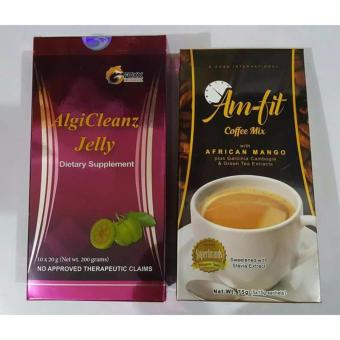 Harga AlgiCleanz Jelly and Amfit Coffee with OmniFresh Plus