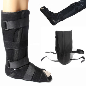 Harga Universal Neoprene Fracture Walker Boot Brace Ankle Support Foot Sprain Injury S - intl