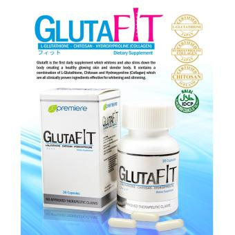 AUTHENTIC JC Premiere GlutaFit Whitening & Slimming 30 Capsules Dietary Supplement Price Philippines