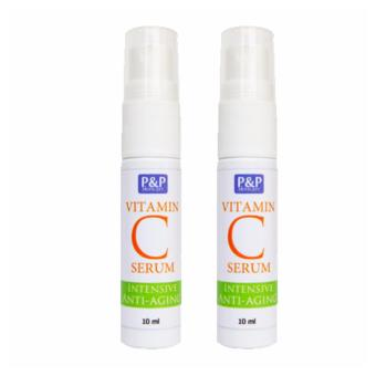 Harga P&P Vitamin C Serum Set of 2