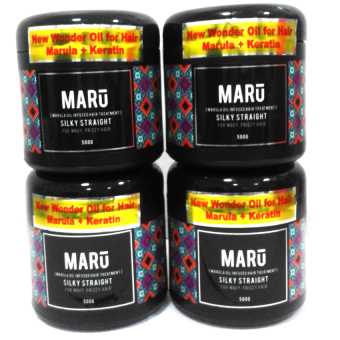 Harga Maru Hot Oil 500g (Silky Straight) Set of 4