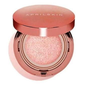 Harga Korean Cosmetics April Skin #22 Magic Snow Cushion (Pink)