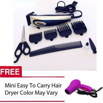 Harga Jinghao Hair Clipper JH-4613 (Color May Vary) Mini Easy to Carry Dryer (Color May Vary)