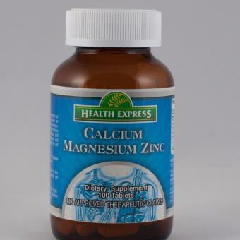 Health Express Calcium Magnesium Zinc 100 Tablets Bottle of 3 Price Philippines