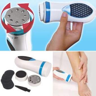 Harga J&J New Beauty Foot Care Pedi Spin Electric Removes Calluses / Dead Dry Skin Massager