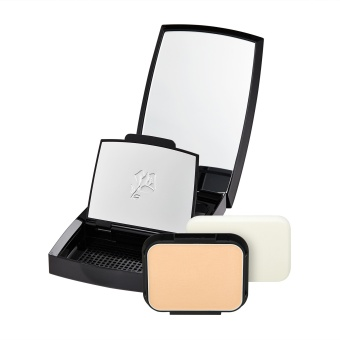 Harga LANCOME Teint Miracle Compact Powder Foundation Bare Skin Perfection Natural Light Creator SPF 20 / PA +++ (Refill + Case) 0.35oz, 10g (# O - 02)