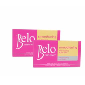 Belo Essentials Smoothening Whitening Body Bar 135g Set of 2 (Pink/Yellow) 330075 W36 Price Philippines