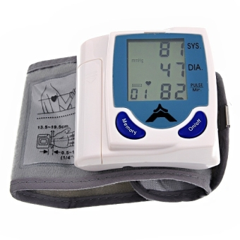 High Accuracy Automatic WristWatch Style Blood Pressure Monitor Price Philippines