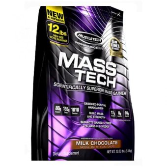 Harga MuscleTech Mass-Tech 12 lbs (Milk Chocolate)