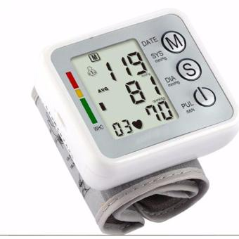 Harga mittaGonG Arm Blood Pressure Monitor with Cuff (Silver) - intl