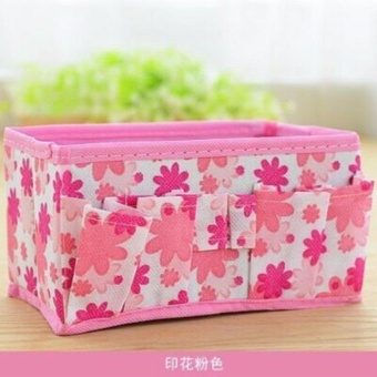 Multipurpose Foldable Stationary Organizer (Pink) Price Philippines