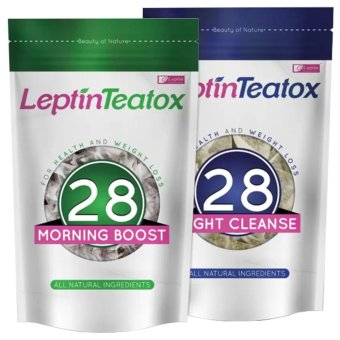 Leptin Teatox Weight Loss Tea 28-day Detox Combo Price Philippines