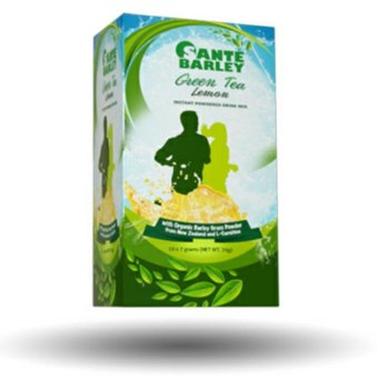 Harga Santé Barley Green Tea with L-Carnitine (7gms/10 Sachets)