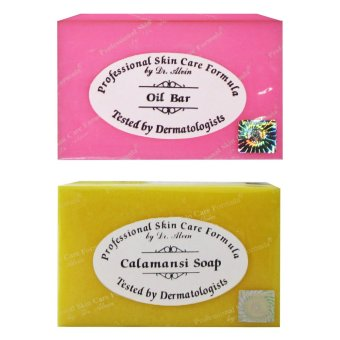 Dr. Alvin Professional Skin Care Formula Oil Bar Soap with Calamansi Soap Set of 2 Price Philippines
