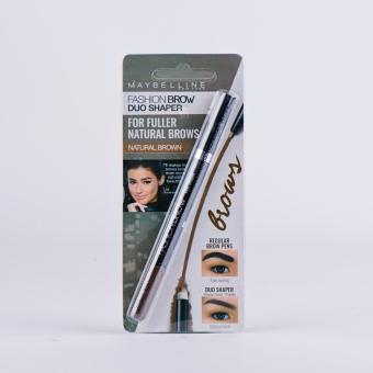 Harga Maybelline Fashion Brow Duo Shaper (Natural Brown)