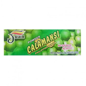 Juan 100% Calamansi Juice Powder Sachet 2g Box of 48 Price Philippines