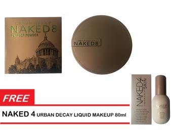 Harga Naked5 Urban Decay Perfect Powder 32g Free Naked8 Liquid Foundation