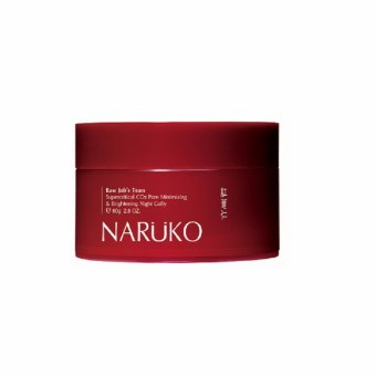 Naruko Raw Job?s Tears Supercritical CO2 Pore Minimizing and Brightening Night Gelly 80g Price Philippines