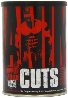 Harga Universal Nutrition Animal Cuts, Ripped and Peeled Animal Training Pack, Sports Nutrition Supplement, 42 Servings