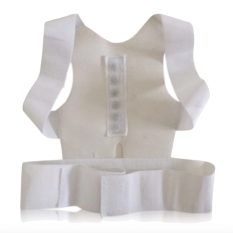 Harga Shoulder Posture Corrector Chest Support Belt Vest Therapy White