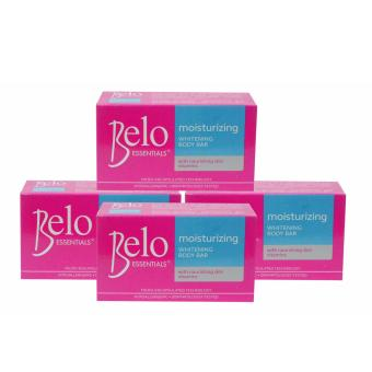 Belo Moisturizing Bar 135g 4's 330051 Price Philippines
