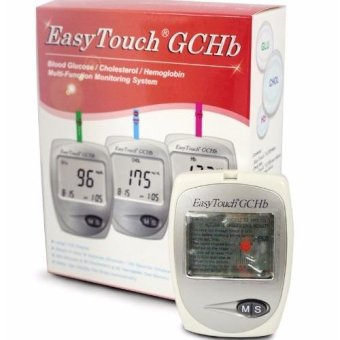 Easytouch GCHb (Glucose, Cholesterol and Hemoglobin) Monitoring Kit Price Philippines