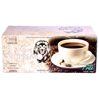 JC Premiere Kape Supremo (8 in 1) 7.5g Sachet Box of 20 Price Philippines