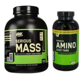 serious Mass 6lbs choco with amino 2222 160 tabs Price Philippines