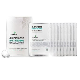 Harga Dr.Labella Glutathione Brightening Skingel Mask 250ml ( 10 Sheets x 25ml )