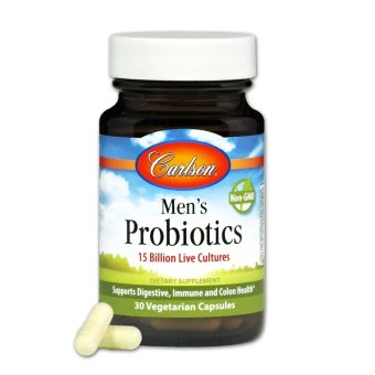 Harga Carlson Men's Probiotics Bottle of 30 Capsules