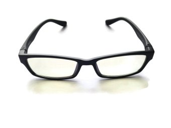 Harga The Serious Design Computer Glasses (Chrome Black) Anti-Blue Light Anti-fatigue and Anti-radiation