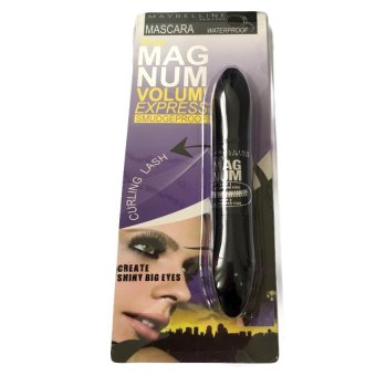 Maybelline The Magnum Volume Express Smudgeproof Mascara (Black) Price Philippines