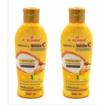 A Bonne Miracle White C Milk Lotion with Honey 200ml Set of 2 Price Philippines