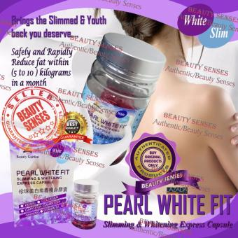 Pearl White Fit Slimming and Whitening Express Capsule 30s Price Philippines
