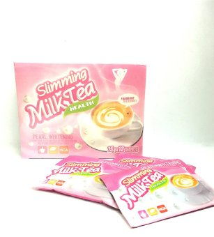 Harga Pearl Slimming Milk Tea with Whitening 12s