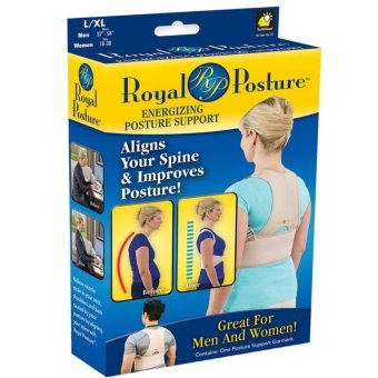 Posture Align Your Spine back brace support garment Posture Back Support Brace Women Men posture corrector- Large Price Philippines
