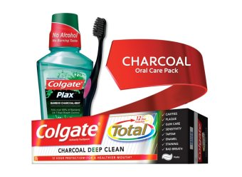 Harga Colgate CHARCOAL Oral Care Pack