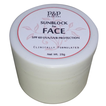 Harga P&P Skin Care Sunblock for Face SPF 60 25g